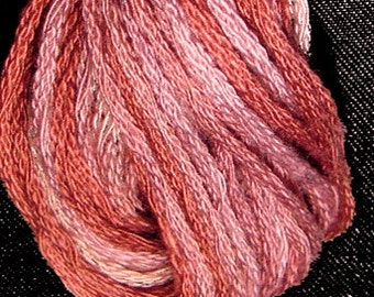 Valdani, 6 Strand Cotton Floss, P8, Old Rose,  Punch Needle, Embroidery, Penny Rugs, Primitive Stitching, Sewing Accessory