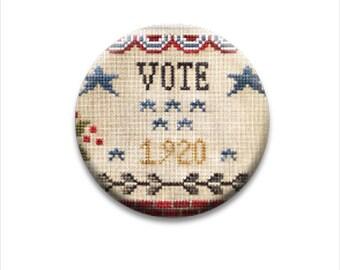 Needle Minder, Vote 1920, Little House Needleworks, Needle Nannies, Rare Earth Magnet, Zappy Dots, Needle Nanny, Needle Holder