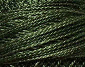 Valdani Thread, Size 8, O575, Perle Cotton, Crispy Leaf, Embroidery Thread, Needlework, Sewing Accessory, Pearl Cotton, Punch Needle