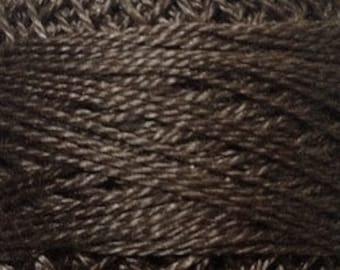 Valdani 3 Strand, 8122, Brown Black, Cotton Floss, Punch Needle, Embroidery, Penny Rugs, Wool Applique, Cross Stitch, Hardanger, Tatting