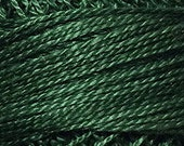 Valdani Thread, Size 8, O39, Perle Cotton, Forest Greens, Punch Needle, Embroidery, Penny Rugs, Primitive Stitching, Sewing Accessory