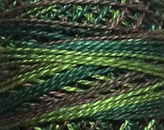 Valdani 3 Strand, M82, Backyard Greenfield, Cotton Floss, Punch Needle, Embroidery, Penny Rugs, Wool Applique, Cross Stitch