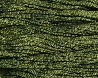 Classic Colorworks, Jolly Holly, CCT-159, 5 YARD Skein, Hand Dyed Cotton, Embroidery Floss, Counted Cross Stitch, Hand Embroidery Thread