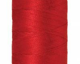 Mettler Thread, Wildfire, #0501, 60wt, Solid Cotton, Silk Finish Cotton, Embroidery Thread, Sewing Thread, Quilting Thread, Sewing Thread