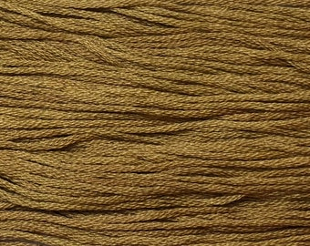 Classic Colorworks, Hazelnut, CCT-219, 5 YARD Skein, Hand Dyed Cotton, Embroidery Floss, Counted Cross Stitch,Hand Embroidery Thread