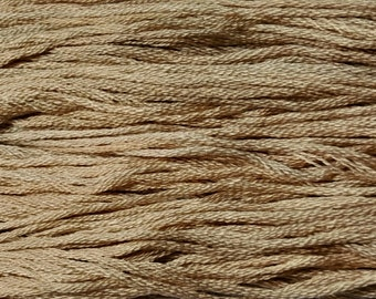 Gentle Art, Simply Shaker Threads, Lambs Wool, #7049, 10 YARD Skein, Embroidery Floss, Counted Cross Stitch, Hand Embroidery Thread