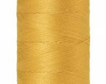 Mettler Thread, Star Gold, #0892, 60wt, Solid Cotton, Silk Finish Cotton, Embroidery Thread, Sewing Thread, Quilting Thread, Sewing Thread