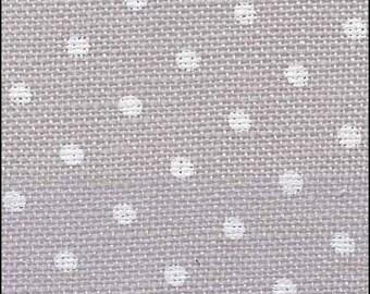 32 Ct Belfast Linen, Petit Point, Grey/White Linen, Counted Cross Stitch, Cross Stitch Fabric, Linen Fabric, Needlework, Zweigart Belfast