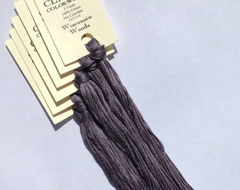 Classic Colorworks, Wisconsin Woods, CCT-114, 5 YARD Skein, Hand Dyed Cotton, Embroidery Floss, Counted Cross Stitch, Hand Embroidery Thread