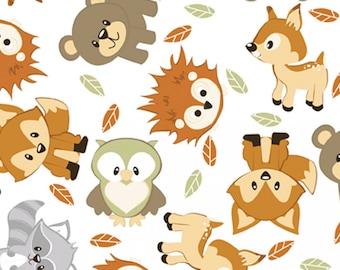Flannel Fabric, Sleepytime Nursery, Dreamtime Nursery, Cotton Flannel, Quilting Flannel, Baby Animals, Baby Flannel, Nursery, David Textiles