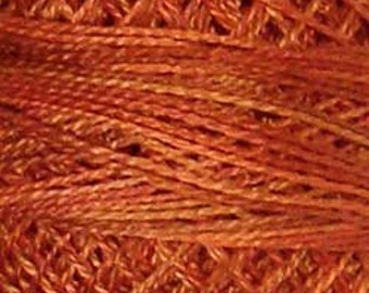 Valdani 3 Strand, P6, Rusted Orange, Cotton Floss, Punch Needle, Embroidery, Penny Rugs, Wool Applique, Cross Stitch, Tatting, Hardanger