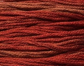 Classic Colorworks, Barn Door, CCT-214, 5 YARD Skein, Hand Dyed Cotton, Embroidery Floss, Cross Stitch, Hand Embroidery Thread