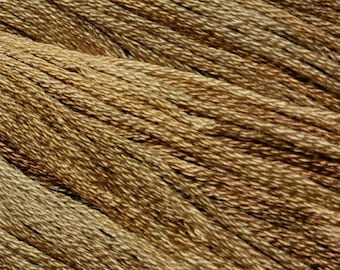 Gentle Art, Simply Shaker Threads, Caramel Corn, #7061, 10 YARD Skein, Embroidery Floss, Counted Cross Stitch, Hand Embroidery Thread