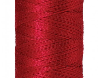 Mettler Thread, Poinsettia, #0102 60wt, Solid Cotton, Silk Finish Cotton, Embroidery Thread, Sewing Thread, Quilting Thread, Sewing Thread