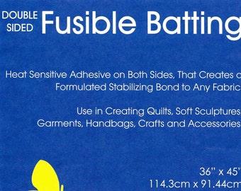 Fusible Batting, Double Sided Fusible Batting, Quilt Batting, Craft Batting, Sewing Accessory, Quilt Batt, Duet Fuse II, Bosal