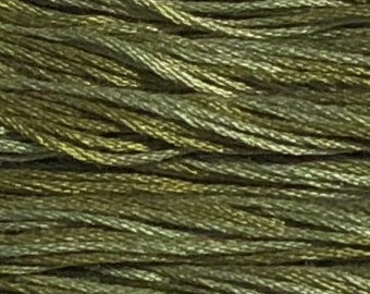Weeks Dye Works, Scuppernong, WDW-2196, 5 YARD Skein, Hand Dyed Cotton, Embroidery Floss, Counted Cross Stitch, Embroidery, PunchNeedle