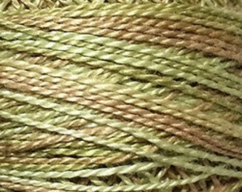 Valdani Thread, Size 8, JP8, Valdani Perle Cotton, Spring Leaves, Embroidery Thread, Punch Needle, Embroidery, Penny Rugs, Sewing Accessory