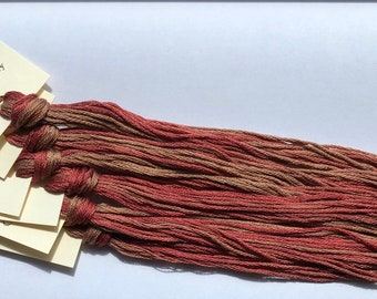 Classic Colorworks, Calico Kitty, CCT-096, 5 YARD Skein, Hand Dyed Cotton, Embroidery Floss, Counted Cross Stitch, Embroidery Thread