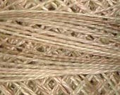 Valdani Thread, Size 12, P4, Perle Cotton, Aged White Light, Embroidery Thread, Punch Needle, Embroidery, Penny Rugs, Sewing Accessory