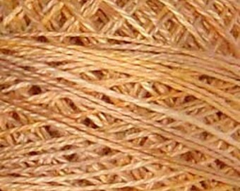 Valdani Thread, Size 8, JP7, Perle Cotton, Faded Marygold, Punch Needle, Embroidery, Penny Rugs, Primitive Stitching, Sewing Accessory