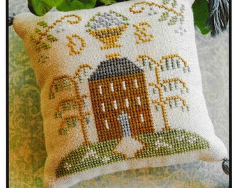 Counted Cross Stitch Pattern, ABC Samplers, #2, Cross Stitch Sampler, Little House Needleworks, Cross Stitch Pillow, Ornament, PATTERN ONLY
