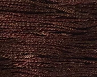 Weeks Dye Works, Rust, WDW-1326, 5 YARD Skein, Hand Dyed Cotton, Embroidery Floss, Counted Cross Stitch, Embroidery, PunchNeedle
