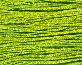Weeks Dye Works, Absinthe, WDW-2204, 5 YARD Skein, Hand Dyed Cotton, Embroidery Floss, Counted Cross Stitch, Hand Embroidery, PunchNeedle