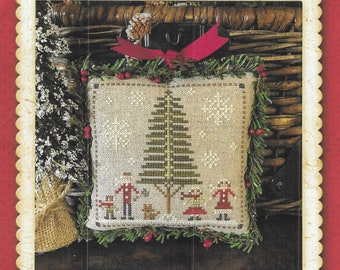 Counted Cross Stitch Pattern, Family Fun, Jack Frost's Tree Farm, Christmas Tree Farm, Christmas, Little House Needleworks, PATTERN ONLY