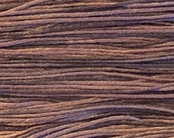 Weeks Dye Works, Mauve, WDW-2281, 5 YARD Skein, Cotton Floss, Embroidery Floss, Counted Cross Stitch, Hand Embroidery, PunchNeedle