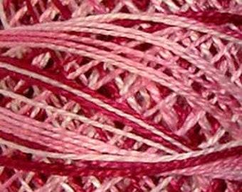 Valdani Thread, Size 12, M1, Valdani Perle Cotton, Strawberry Cream, Punch Needle, Embroidery, Penny Rugs, Hand Stitching, Sewing Accessory