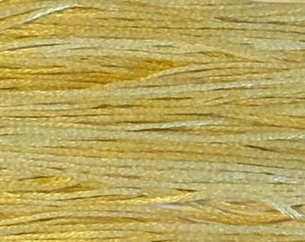 Weeks Dye Works, Goldenrod, WDW-1118, 5 YARD Skein, Hand Dyed Cotton, Embroidery Floss, Counted Cross Stitch, Embroidery, PunchNeedle