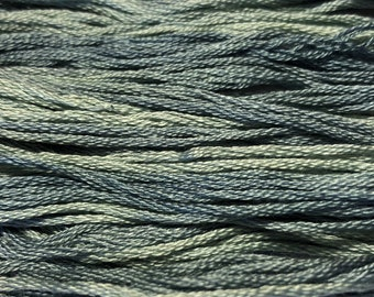 Classic Colorworks, Rain Shower, CCT-189, 5 YARD Skein, Hand Dyed Cotton, Embroidery Floss, Counted Cross Stitch,Hand Embroidery Thread