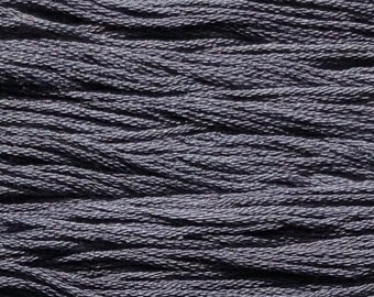 Classic Colorworks, Zack Black, CCT-110, 5 YARD Skein, Hand Dyed Cotton, Embroidery Floss, Counted Cross Stitch, Embroidery Thread
