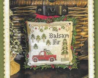 Counted Cross Stitch Pattern, Balsam Fir, Jack Frost's Tree Farm, Christmas Tree Farm, Christmas, Little House Needleworks, PATTERN ONLY