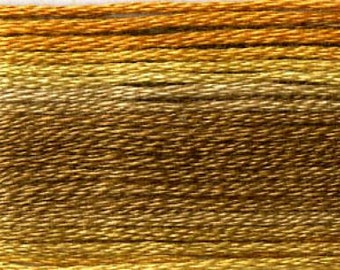 Cosmo, 6 Strand Cotton Floss, SE80-8034,  Seasons Variegated Embroidery Thread, Punch Needle, Embroidery, Sewing Accessory