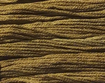 Classic Colorworks, Caramel, CCT-234, 5 YARD Skein, Hand Dyed Cotton, Embroidery Floss, Counted Cross Stitch, Embroidery Thread