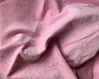 Velveteen, Blossom, Pink Velveteen, Hand Dyed Velveteen, Cotton Velveteen, Finishing Fabric, Velveteen Fabric, Lady Dot Creates