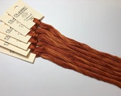 Classic Colorworks, Colonial Copper, CCT-170, 5 YARD Skein, Hand Dyed Cotton, Embroidery Floss, Counted Cross Stitch,Hand Embroidery Thread