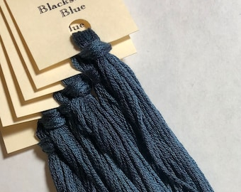 Classic Colorworks, Blacksmith Blue, CCT-187, 5 YARD Skein, Hand Dyed Cotton, Embroidery Floss, Cross Stitch, Hand Embroidery Thread