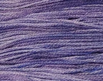 Weeks Dye Works, Peoria Purple, WDW-2333, 5 YARD Skein, Hand Dyed Cotton, Embroidery Floss, Cross Stitch, Hand Embroidery, Punch Needle