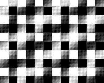 Flannel Fabric, Flannel Gnomies, Buffalo Check, Plaid Flannel, Black Flannel, Cotton Flannel, Quilting Flannel, Shelly Comiskey, Henry Glass