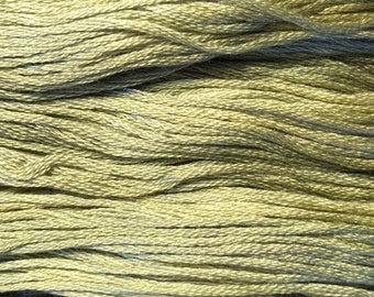 Gentle Art, Simply Shaker Threads, Sage, #7101, 10 YARD Skein, Embroidery Floss, Counted Cross Stitch, Hand Embroidery Thread