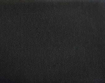 28 Count Linen, Chalkboard Black,  Cross Stitch Linen, Counted Cross Stitch, Cross Stitch Fabric, Black Linen Fabric, Needlework