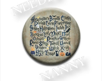 Needle Minder, Cottage Garden, Halloween Sampler, Needle Nannies, Rare Earth Magnet, Zappy Dots, Needle Nanny, Needle Holder