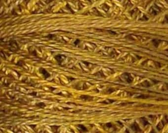 Valdani Thread, Size 12, P5, Valdani Perle Cotton, Tarnished Gold, Embroidery Thread, Punch Needle, Embroidery, Penny Rugs, Sewing Accessory