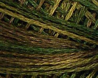 Valdani 3 Strand, P2, Cotton Floss, Olive Green, Heirloom Collection, Punch Needle, Embroidery, Penny Rugs, Wool Applique, Cross Stitch