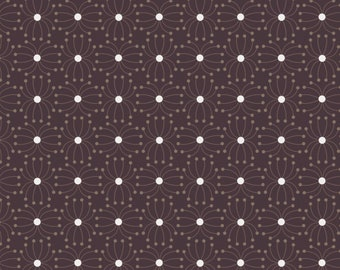 Quilt Fabric, In The Woods, Seeds, Dark Brown, 100% Cotton, Quilters Cotton, Cotton Fabric, Premium Cotton, Alisse Courter, Camelot Fabrics