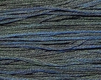 Weeks Dye Works, Battleship, WDW-2108, 5 YARD Skein, Hand Dyed Cotton, Embroidery Floss, Counted Cross Stitch, Embroidery, PunchNeedle
