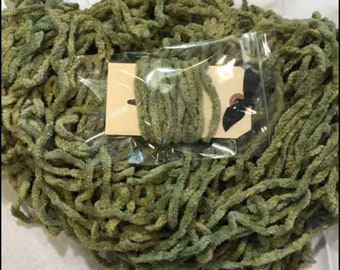 Chenille Trim, Mossy, Lady Dot Creates, Chenille, Hand Dyed Chenille, Cotton Chenille, Sewing Notion, Sewing Accessory, Sewing Trim