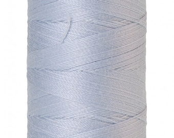 Mettler Thread, Ice Cap, #0363 60wt, Solid Cotton, Silk Finish Cotton, Embroidery Thread, Sewing Thread, Quilting Thread, Sewing Thread